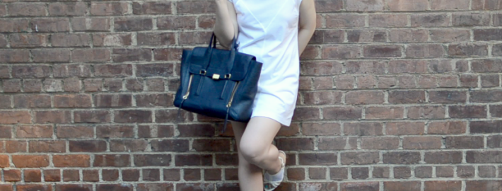 white t by alexander wang dress