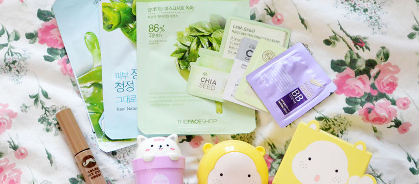 the face shop cute masks