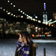 brooklyn bridge park bokeh