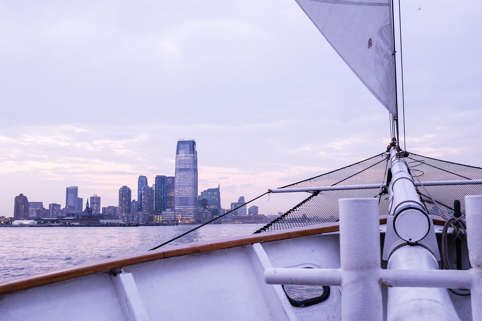 jersey city nyc skyline sail