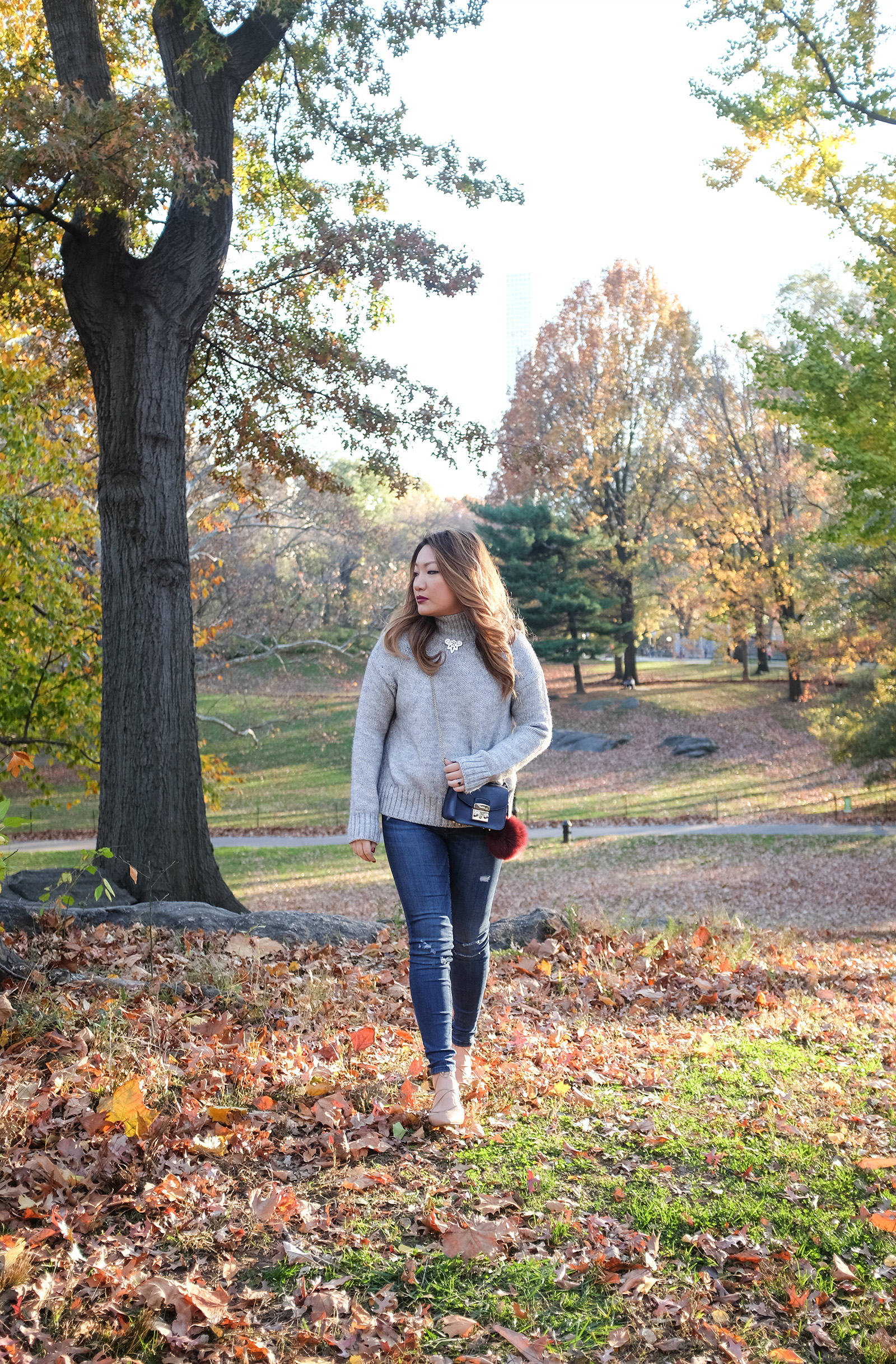 central park fall outfit