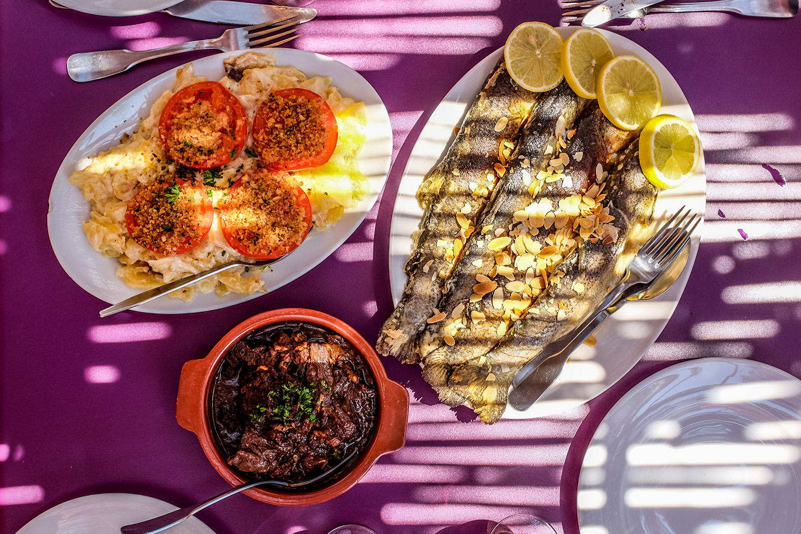 Food in Provence, France