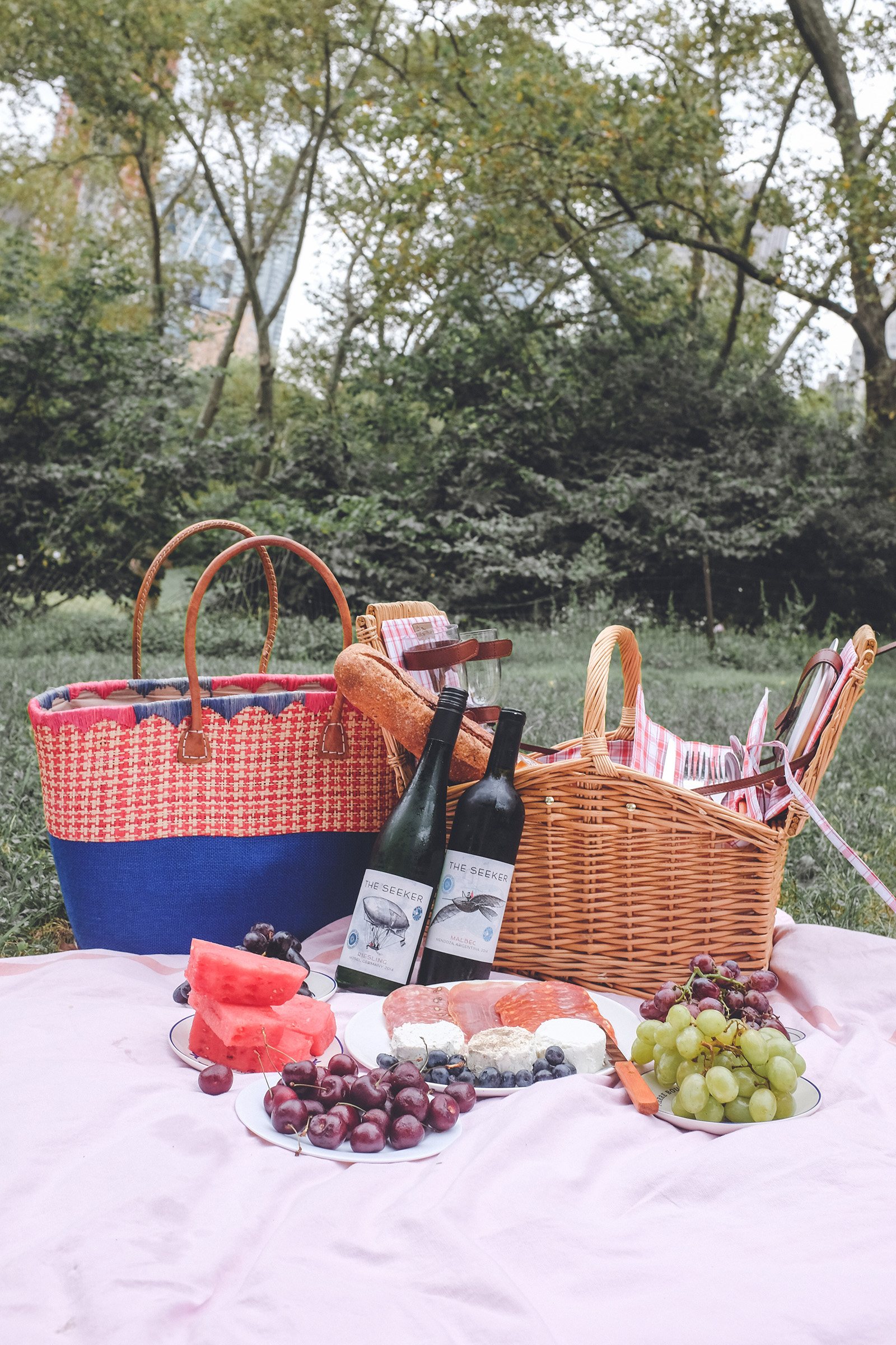 Seeker Wines Picnic