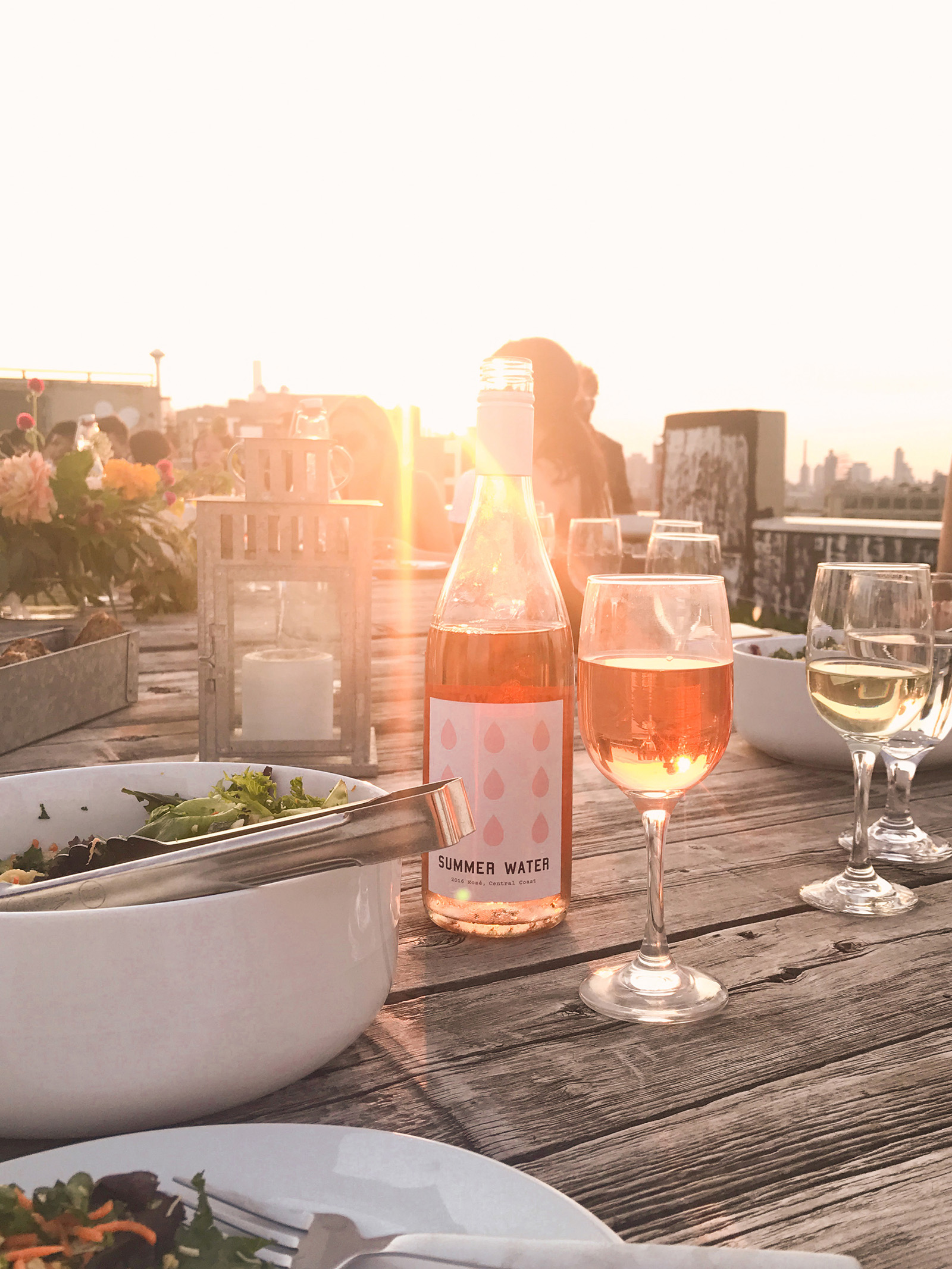 Fohr Summer Sunset Rooftop Dinner