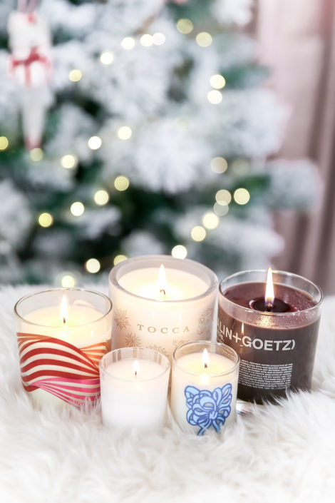 holiday luxury candles
