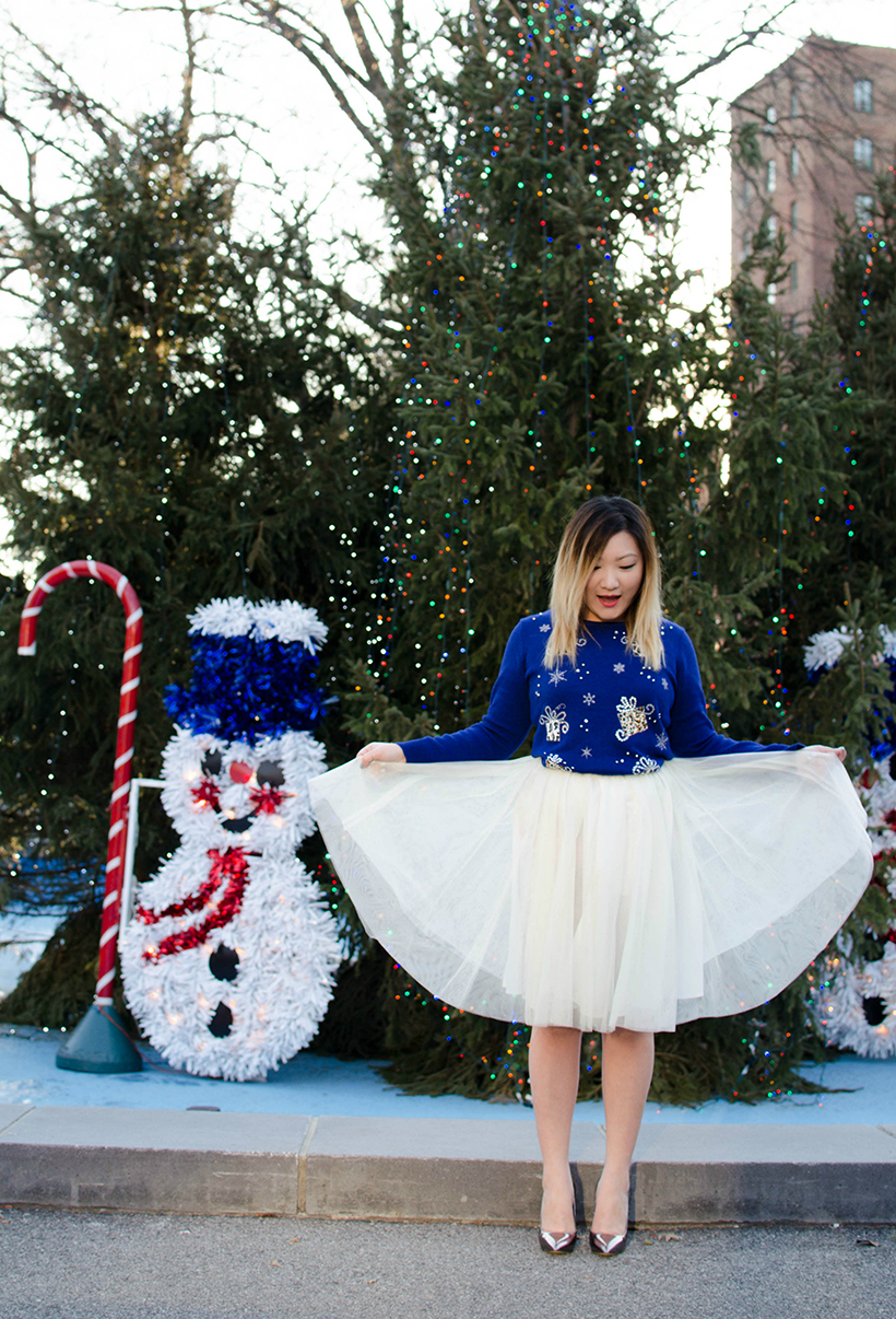 Ugly Christmas Skirt Ideas.In Holiday Spirit Tineey