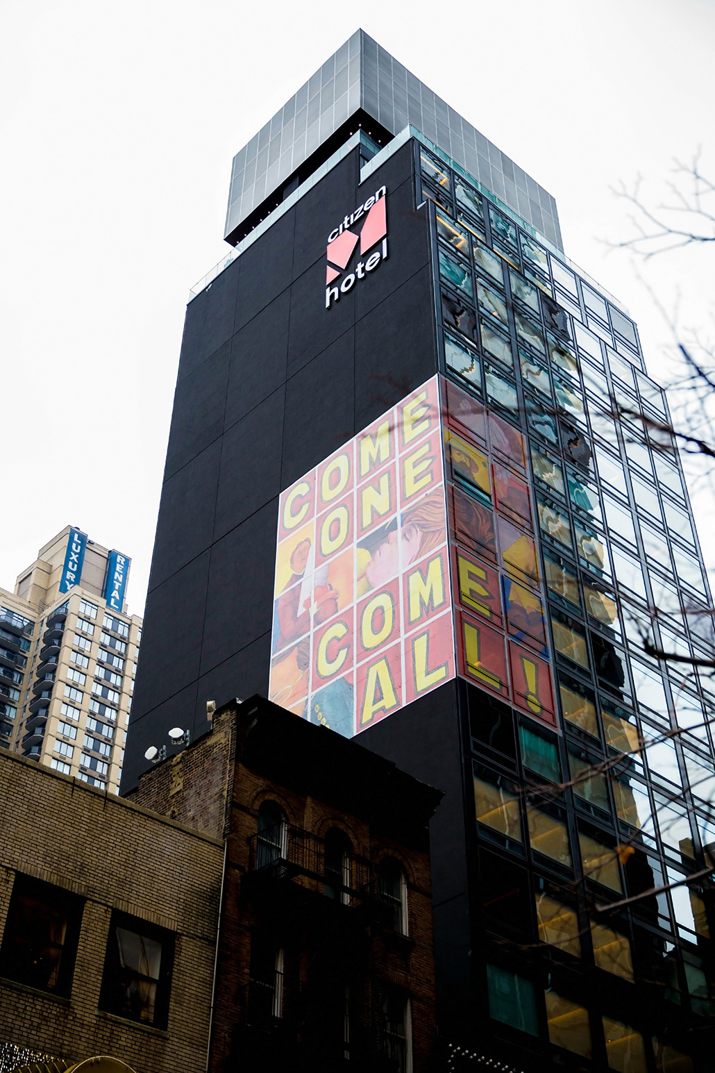 Citizenm times square tineey for Tablet hotels nyc