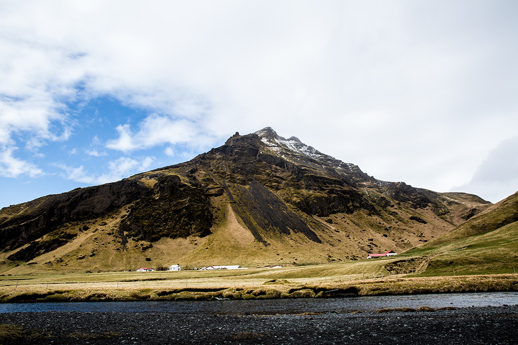 Skogafoss Mountain