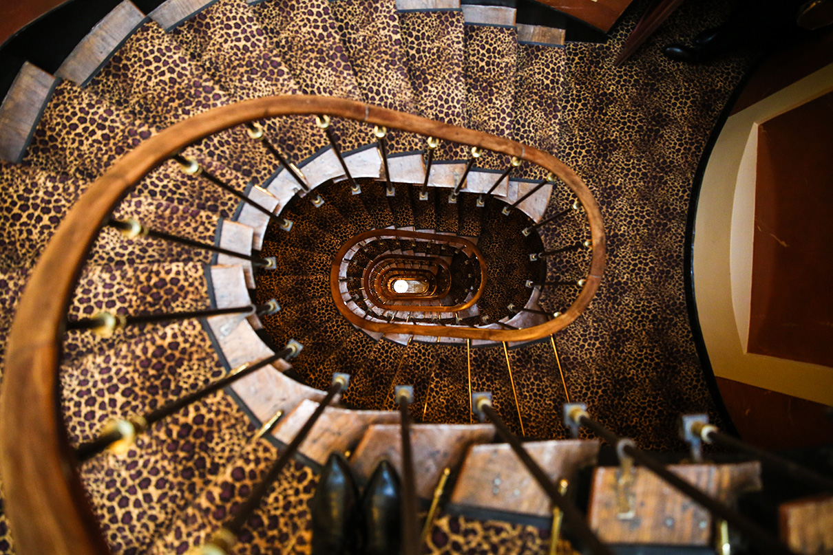 L'Hotel Staircase