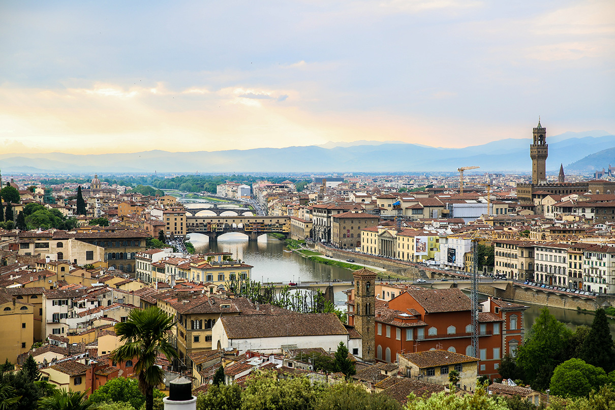 Piazzale Michelangelo View of Florence