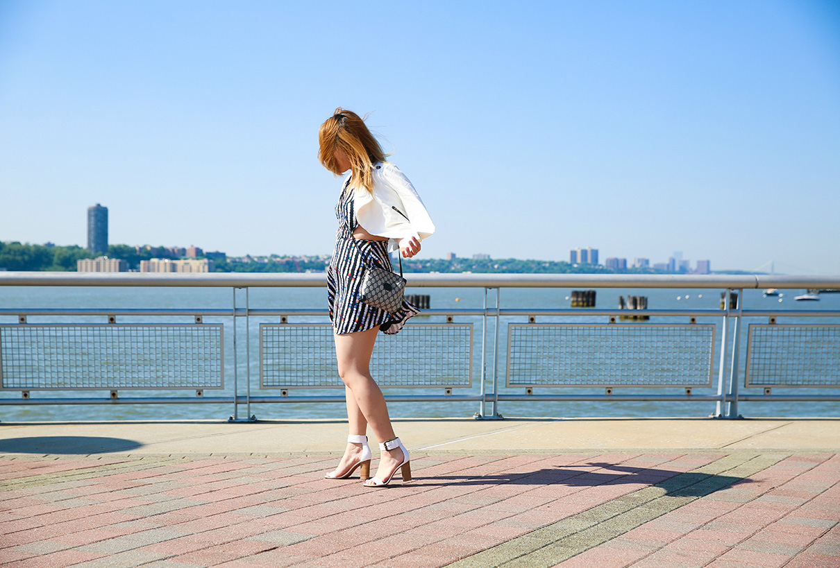 Blue White Outfit Nautical-2