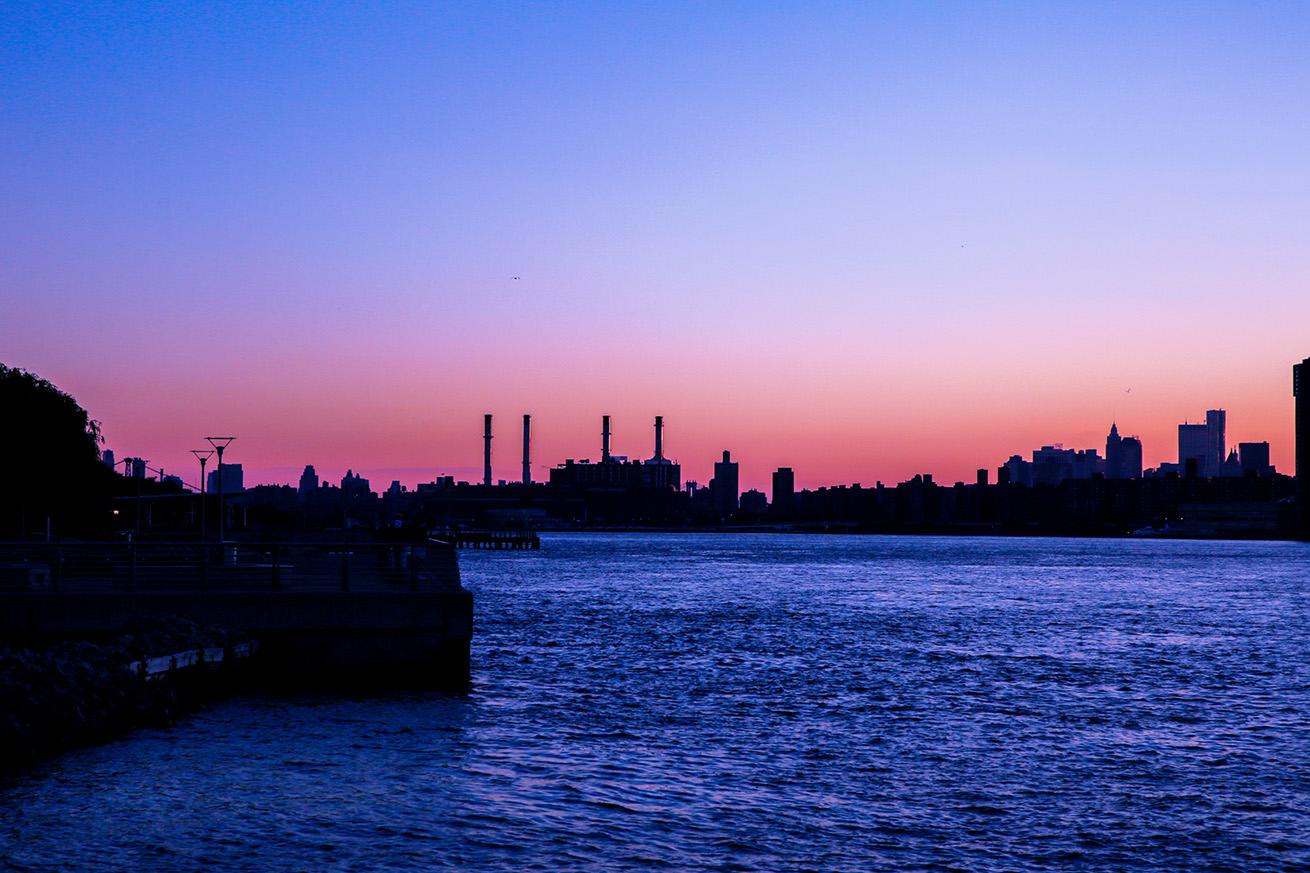 Twilight across the East River