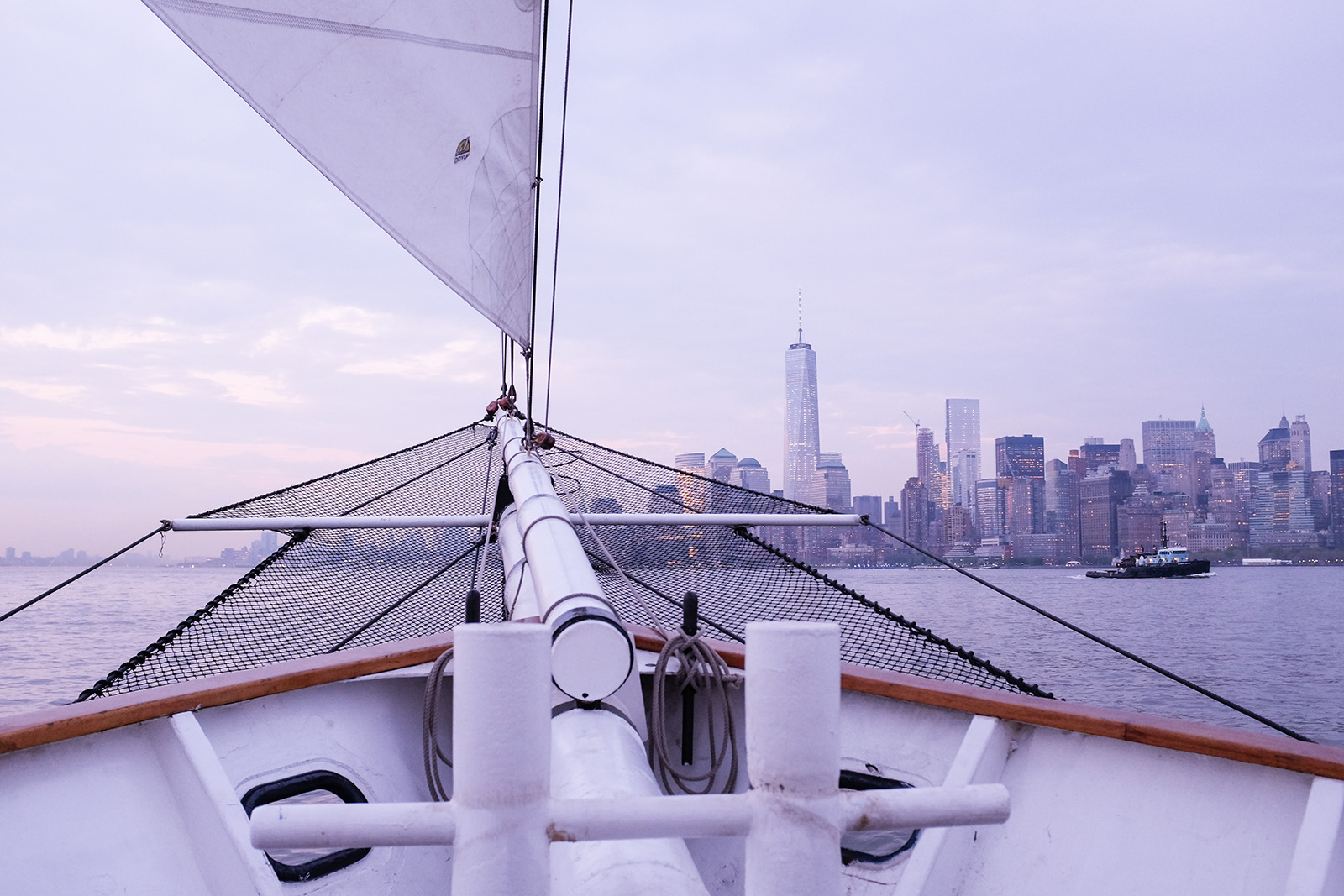 1 WTC nyc skyline sail
