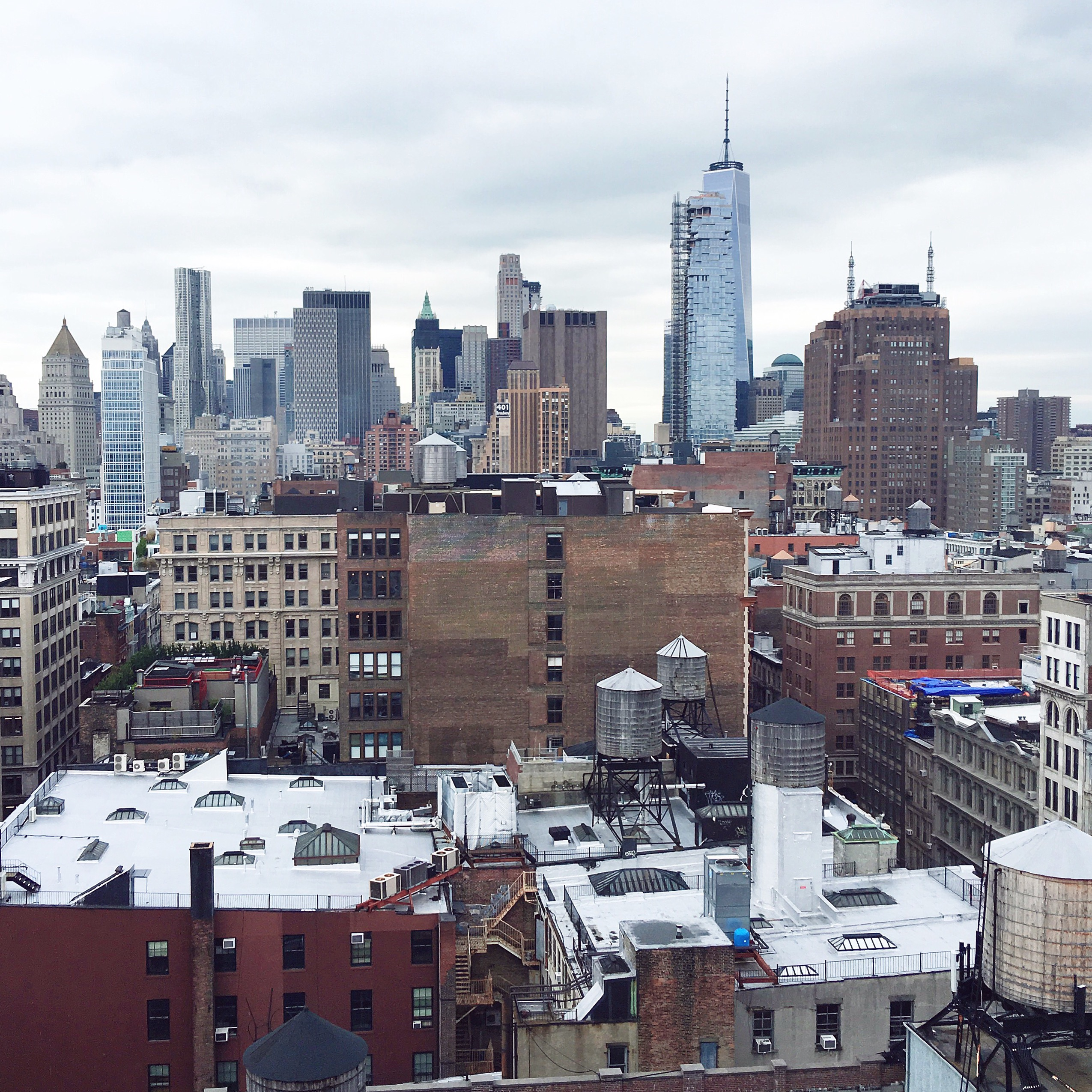 View from my office of the day in SoHo