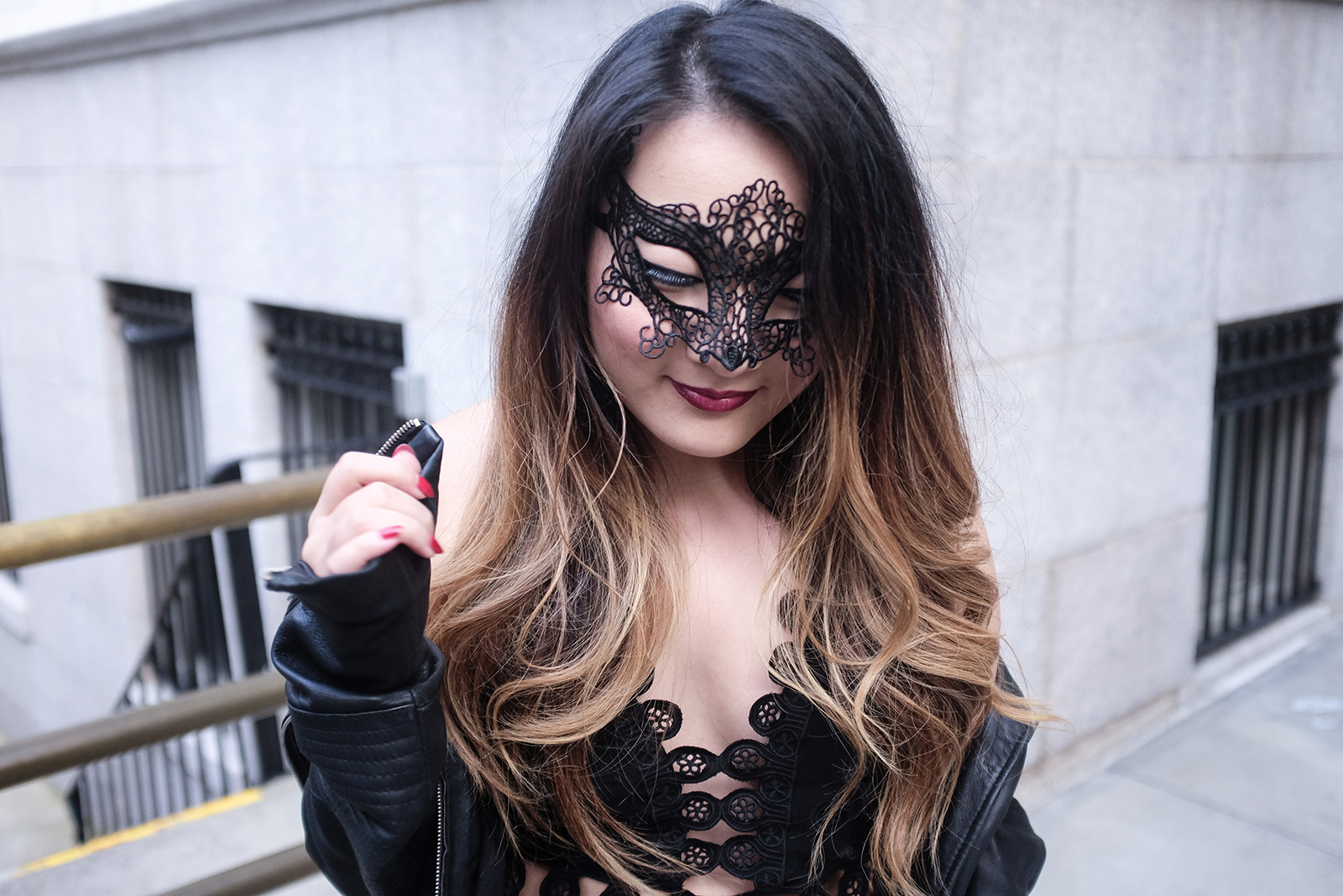 Halloween Lace Mask