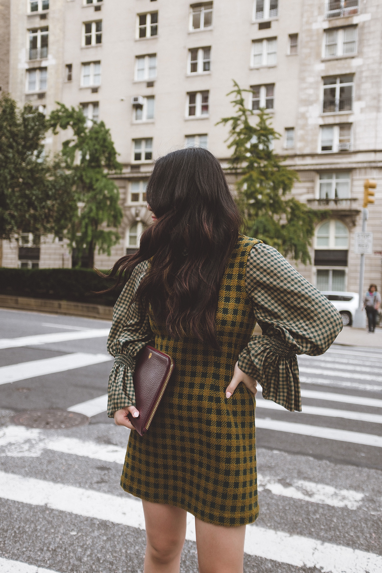 Fall Style - NYC - Sea New York Plaid Ethno Dress