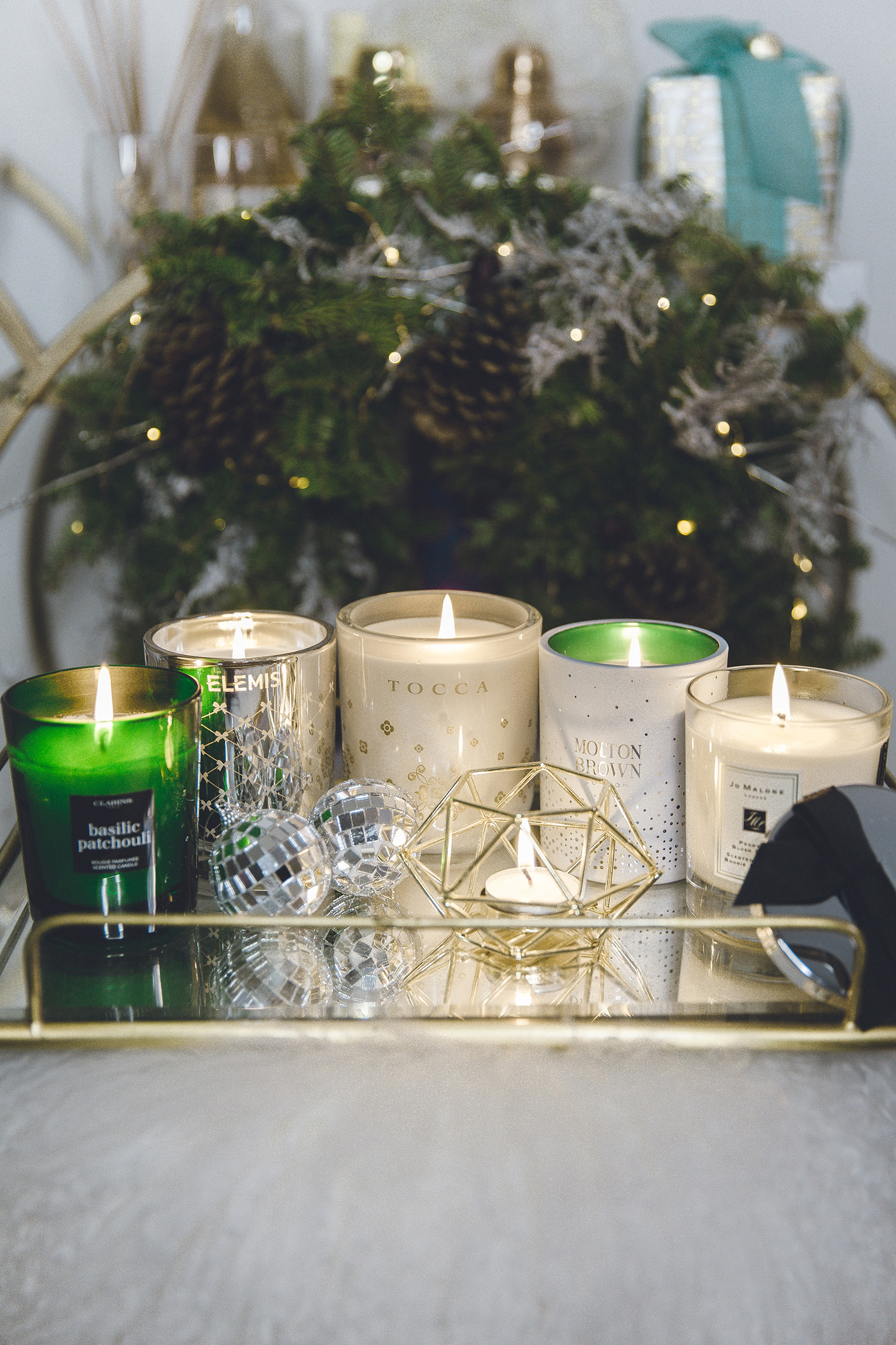 luxury holiday candles