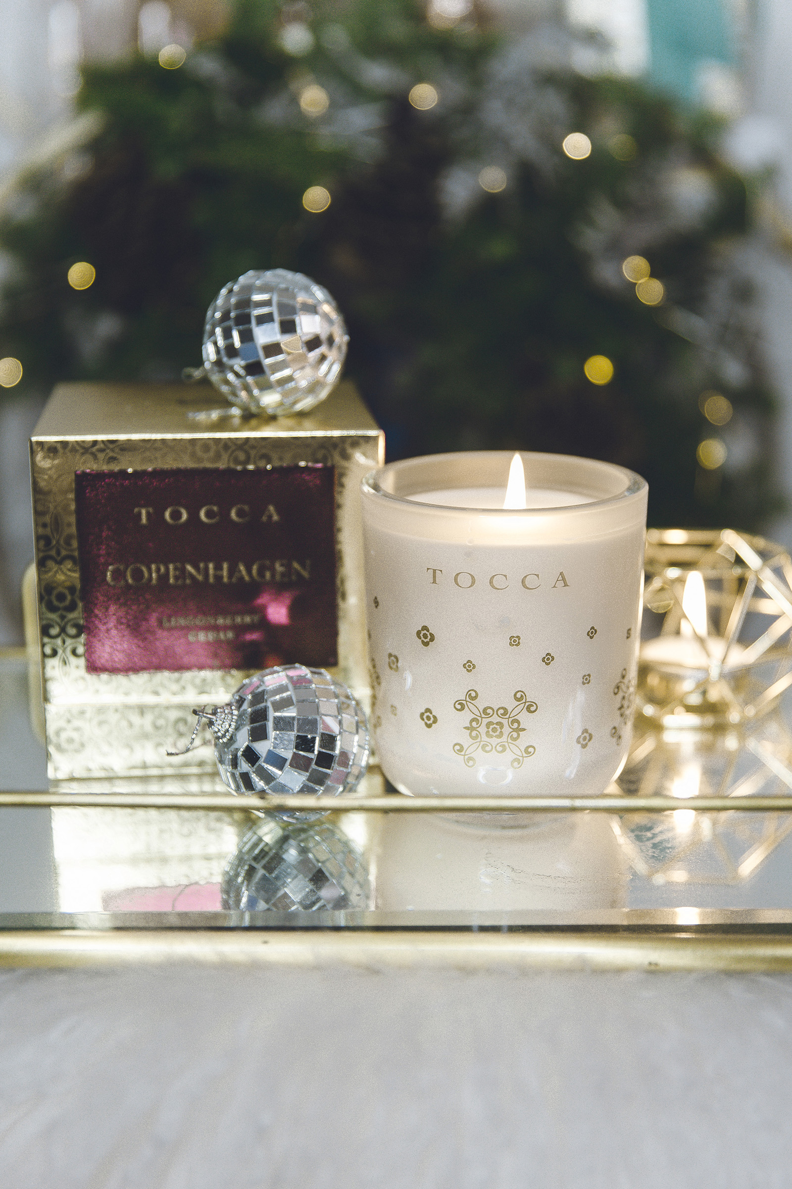 tocca luxury holiday candles